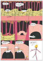 Comic by Michael DeForge