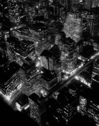 Nightview, New York City (1932) by Berenice Abbott.