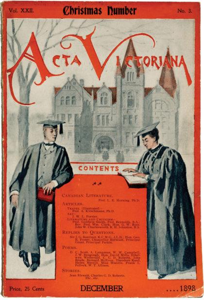 Cover courtesy E. J. Pratt Library