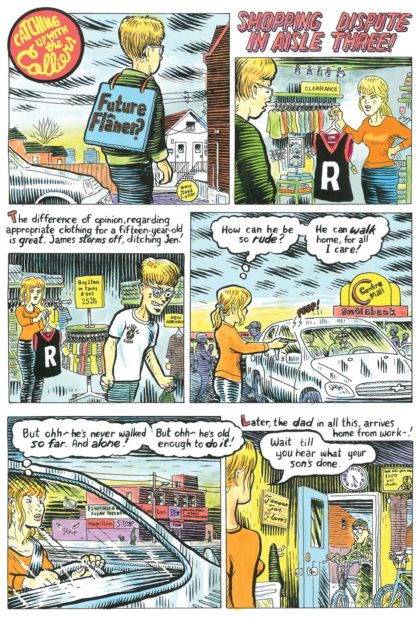 Comic by David Collier